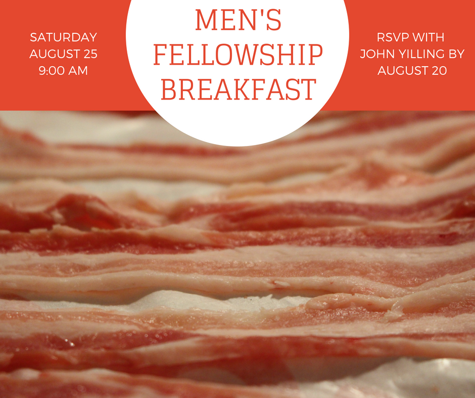 August 2018 Men's Breakfast Email Picture