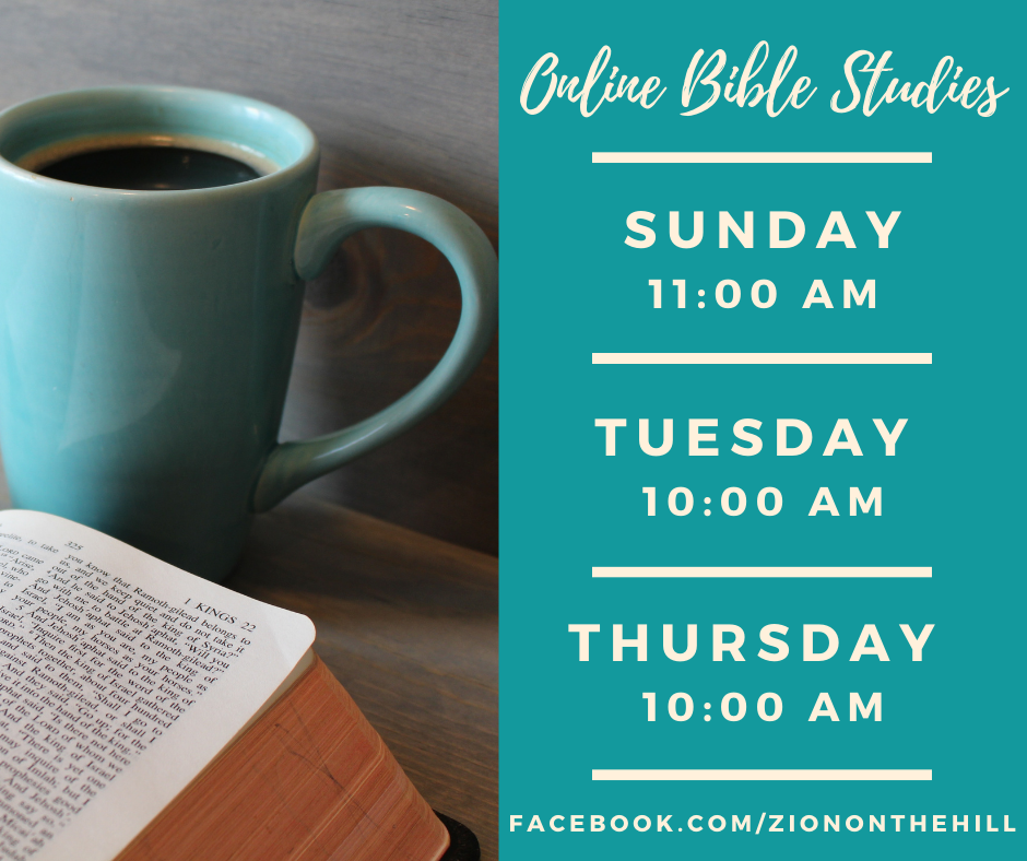Bible Study Opportunities