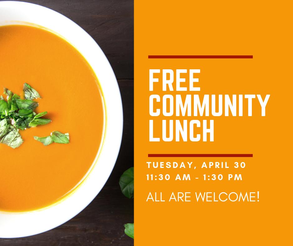 Community Lunch April 2019