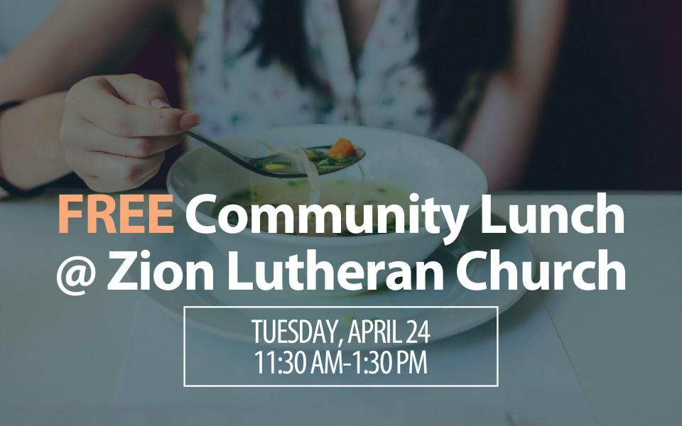 Community Lunch April