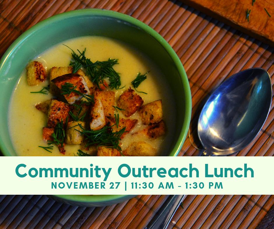 Community Lunch November 2018
