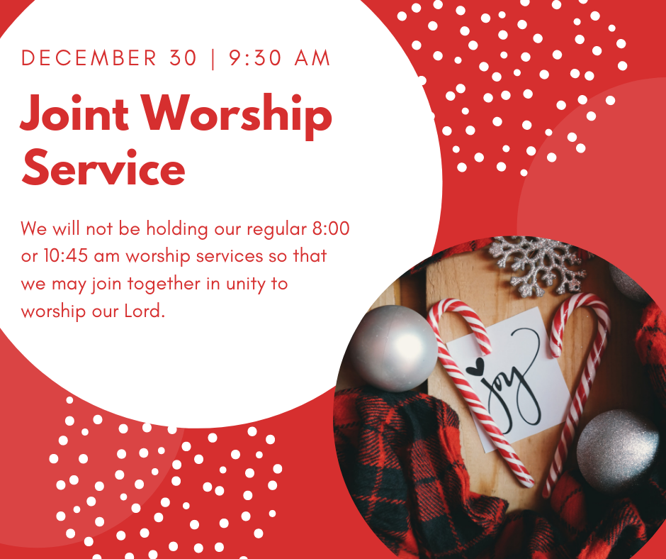 December Joint Worship Service
