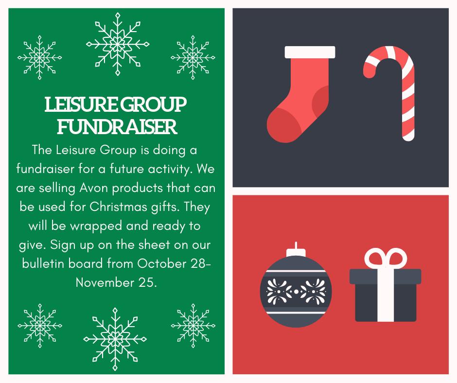Leisure Group Fundraiser