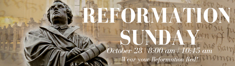 Reformation Sunday 2018