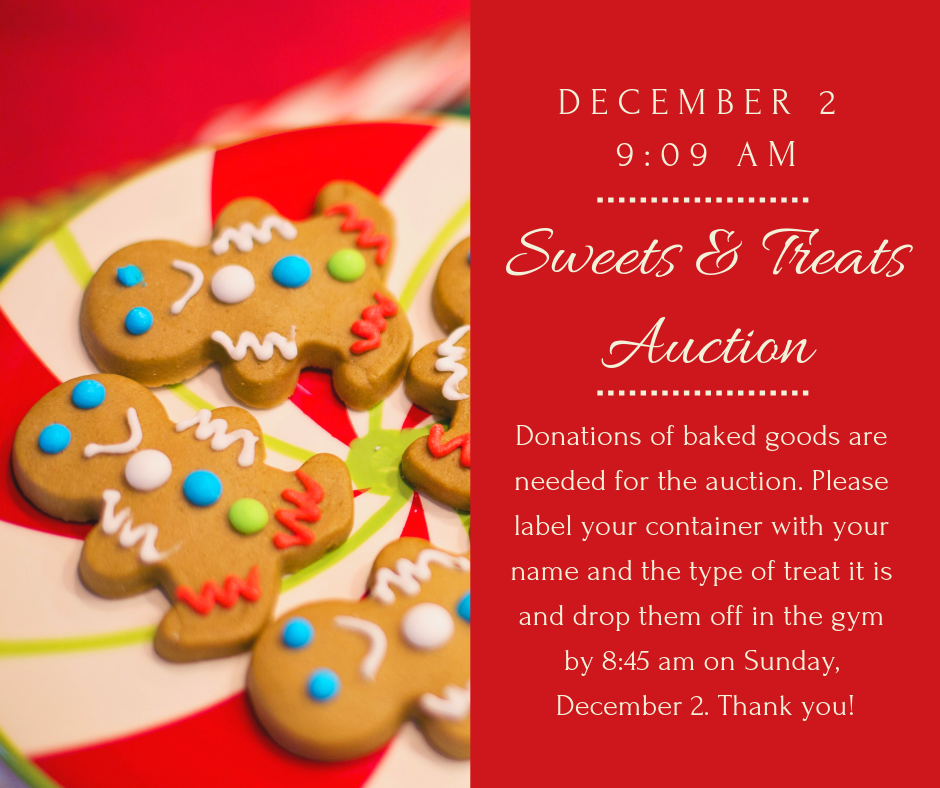 Sweets and Treats 2018