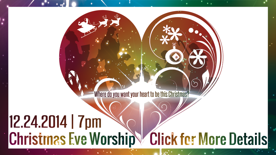 Christmas Eve 2014 Front Page Slider Pic