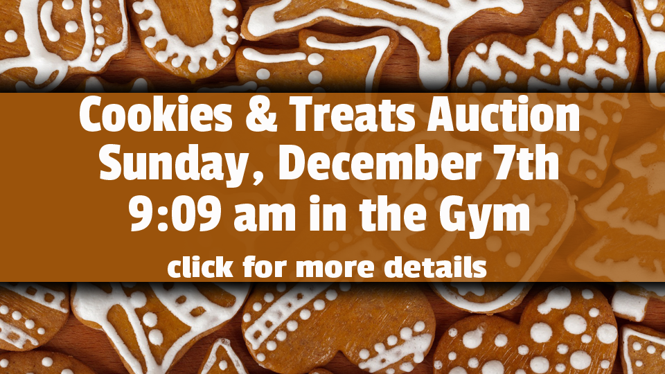 Cookies and Treats Auction 2014-Front Slider Pic