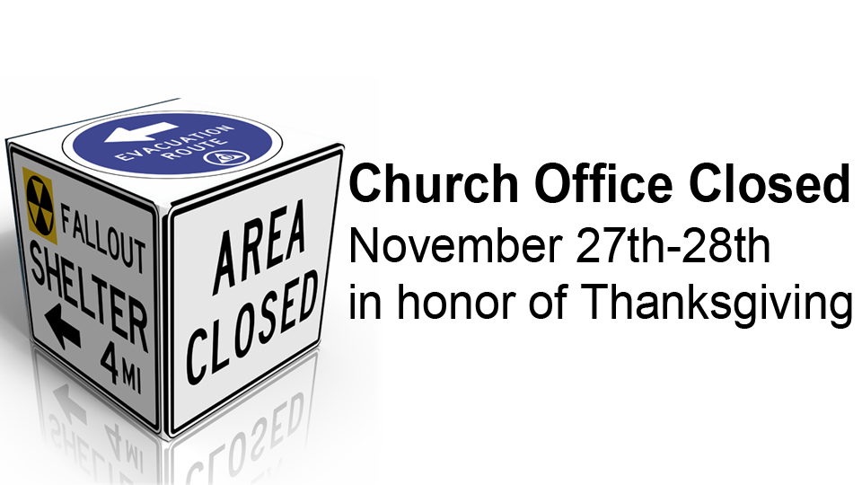 Office Closed Thanksgiving Front Slider Pic