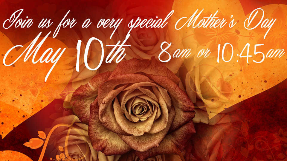 Mother's Day 2015-Front Page Slider Pic