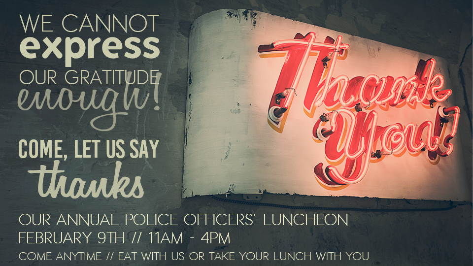 Police Officers Luncheon 2016-Front Page Slider Pic