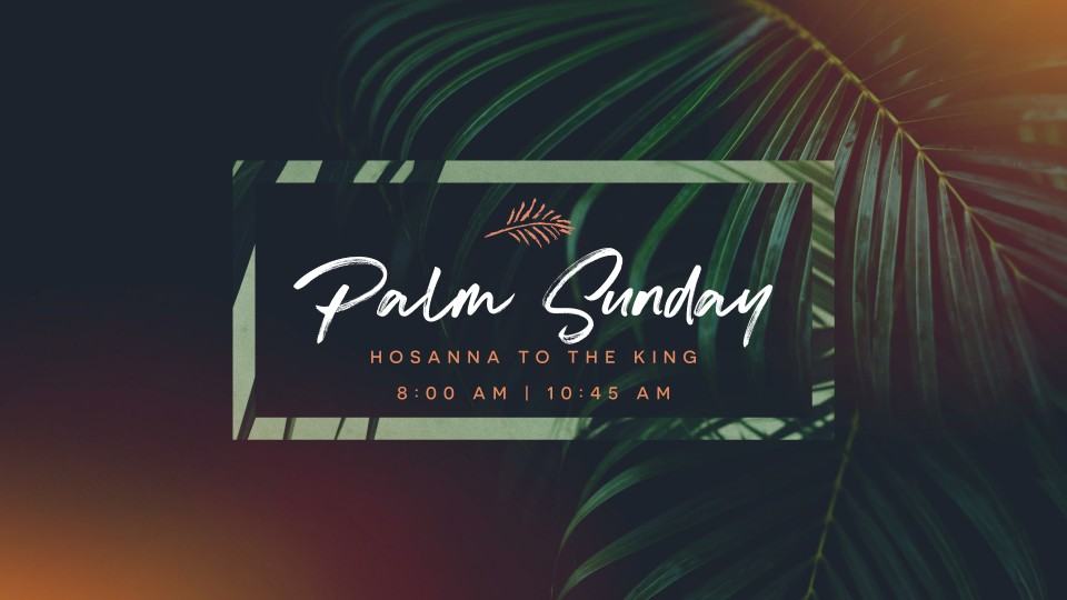 Palm Sunday Slider